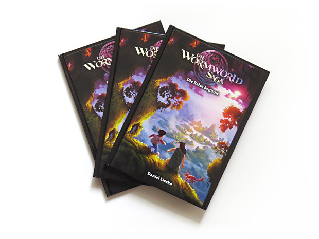 The current German edition of the first Wormworld Saga book