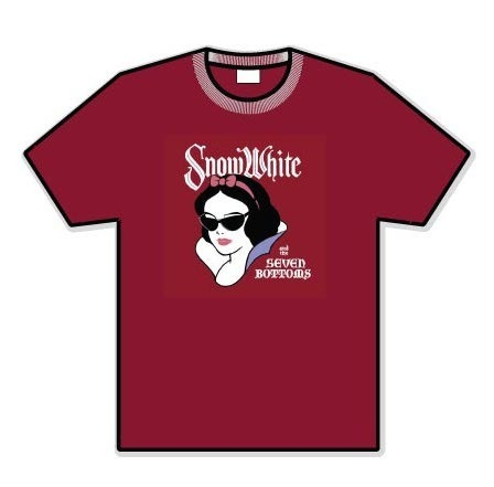 "The very fashionable ""SNOW WHITE"" T!"