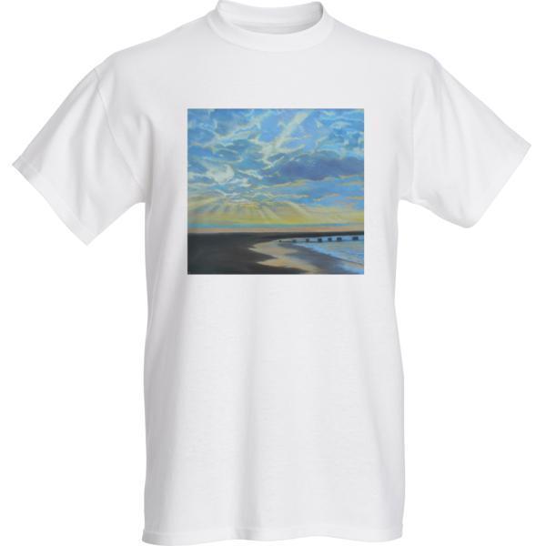 Majestic Morning White T-Shirt
