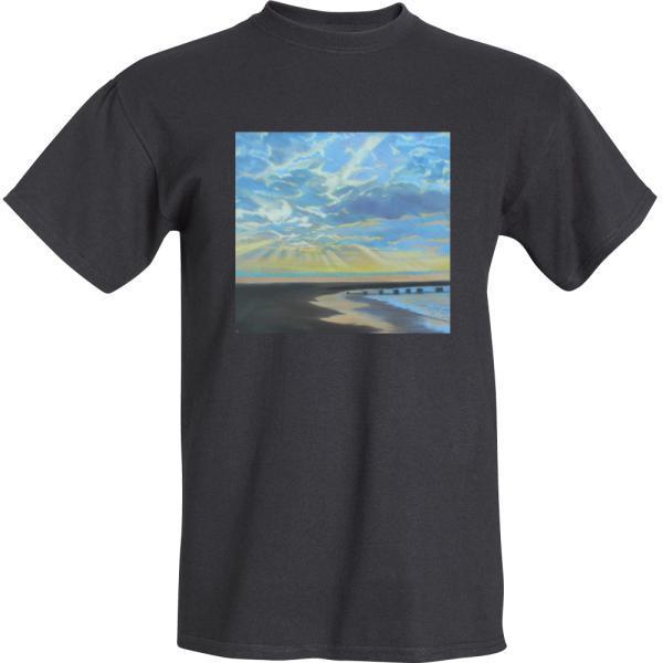 Majestic Morning Black T-Shirt
