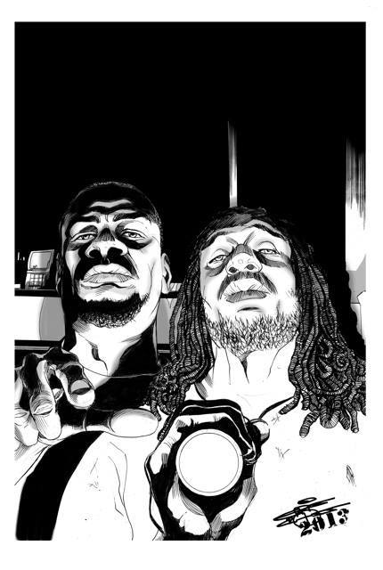 Watson and Holmes # 4 (c) Original Cover Art by ChrisCross