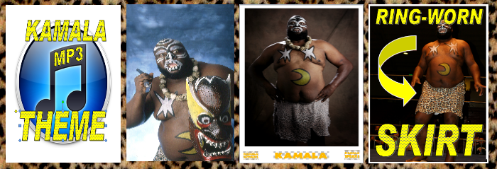 MP3 Theme Download, Postcard from Kamala, Autographed 8 x 10, Ring Worn Skirt (Limited)