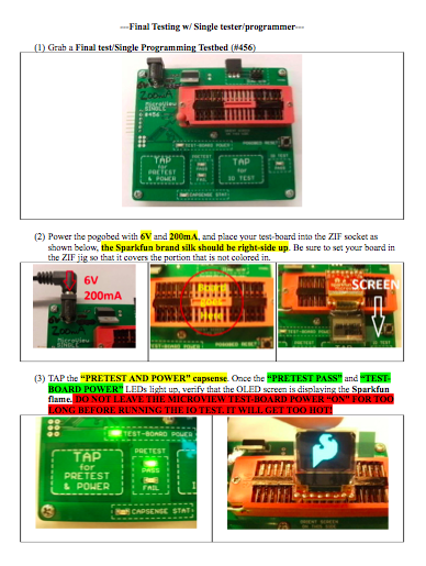 Part of SparkFun's Microview testing procedure document.