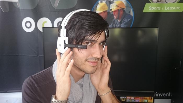 First Mock-Ups of Headphone version of ORA-X