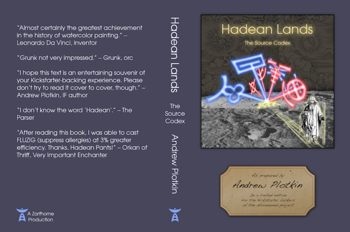 Hadean Lands source book cover