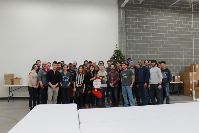 Season's greetings from some of our M3D team members