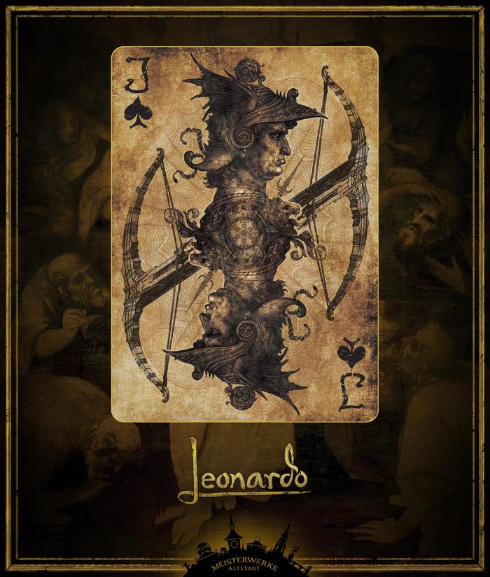 Leonardo Edition Gold | Jack of Spades