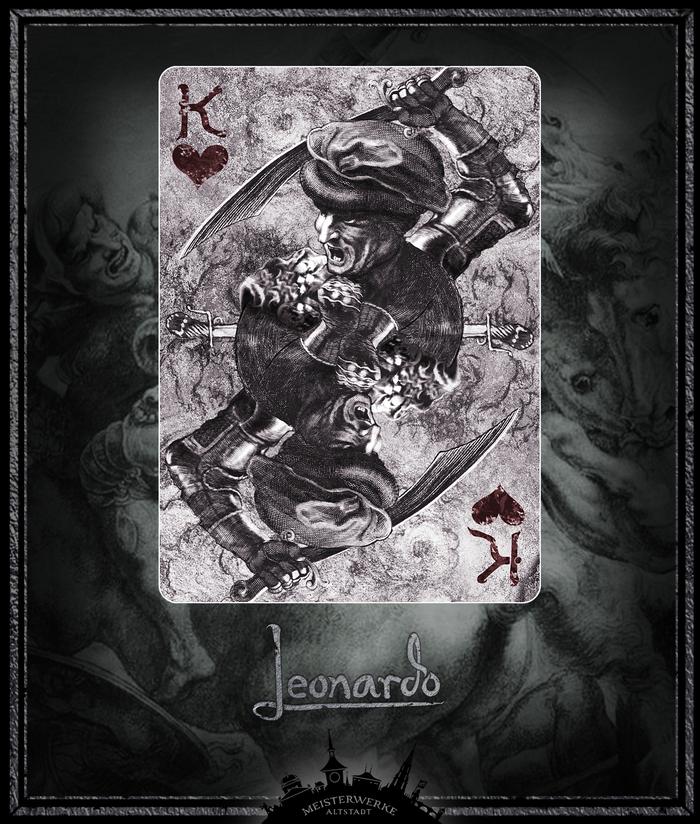 Leonardo Edition Silver | King of Hearts