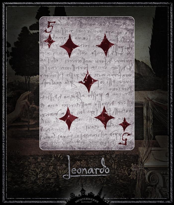 Leonardo Edition Silver | Five of Diamonds