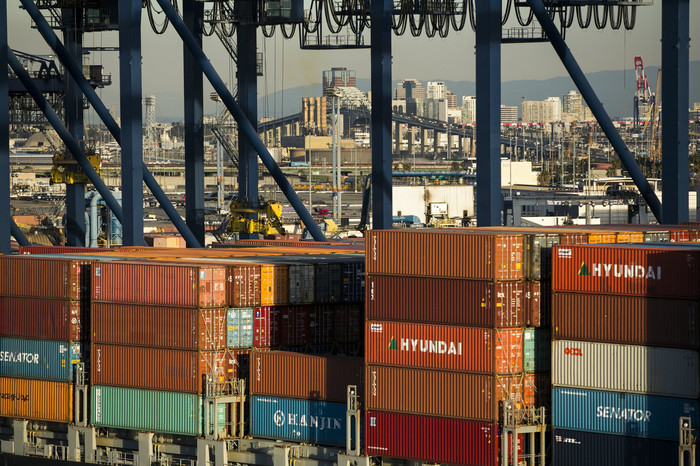 """""""Shipping containers are stacking up at the Port of Los Angeles, which might need eight weeks to get back to normal once solutions are found."""" - Wall Street Journal"""