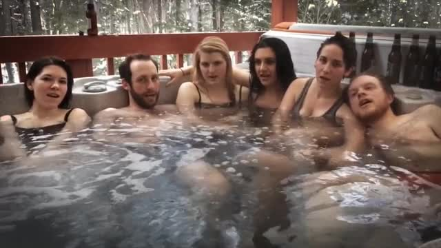 Sexy girls hot tub can suggest
