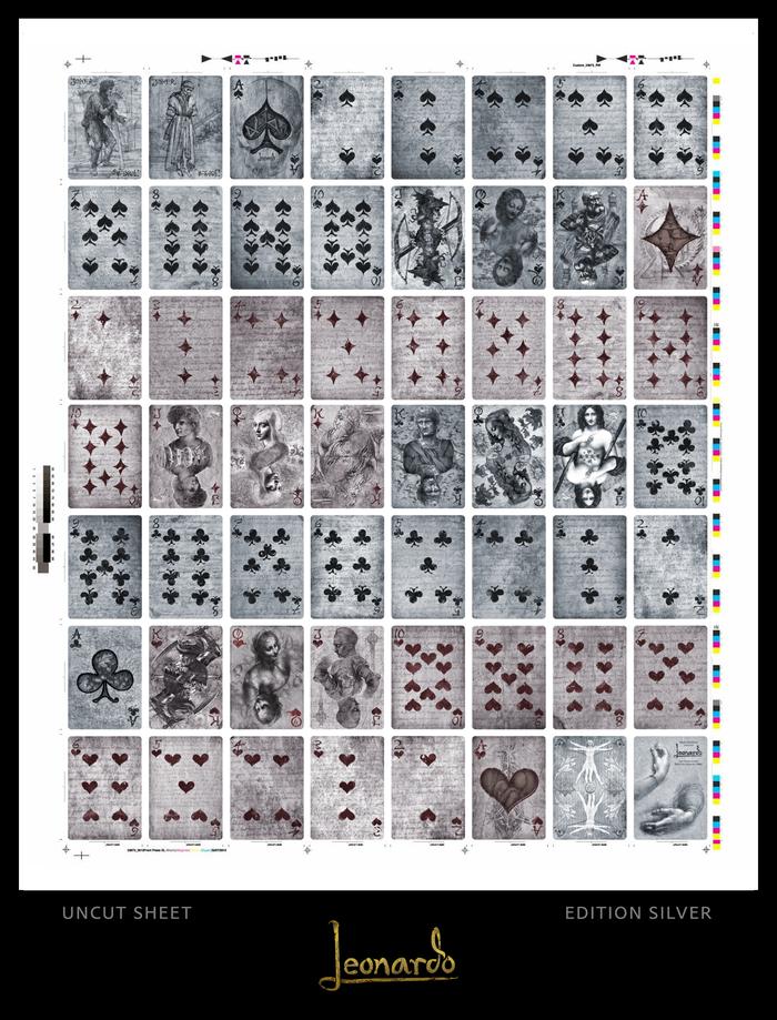 Leonardo Edition Silver | Uncut Sheet