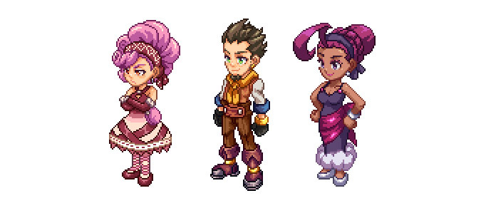 Deseret, Sorbet, and Kaiser have been recently imported into the current sprite style!