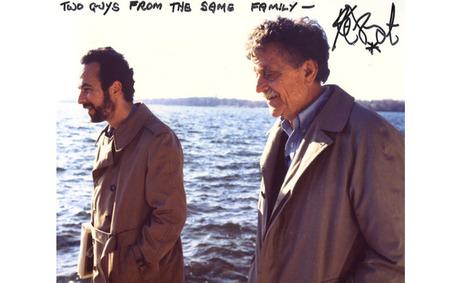 Weide with Vonnegut in 1994