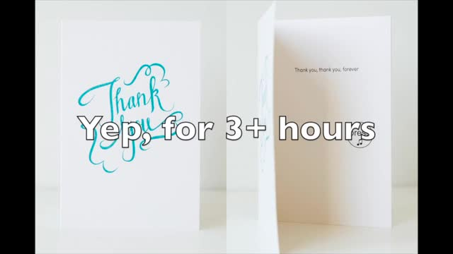Prank greeting cards that dont stop playing music by travis thank you card plays golden girls song thank you for being a friend m4hsunfo