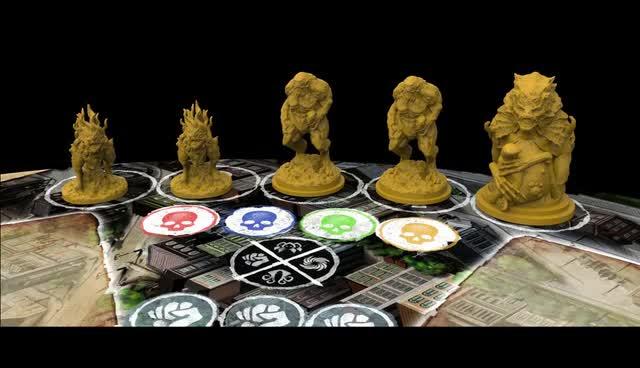 Spiele Rise of the Cults Kickstarter Deutsch Red Imp Cthulhu
