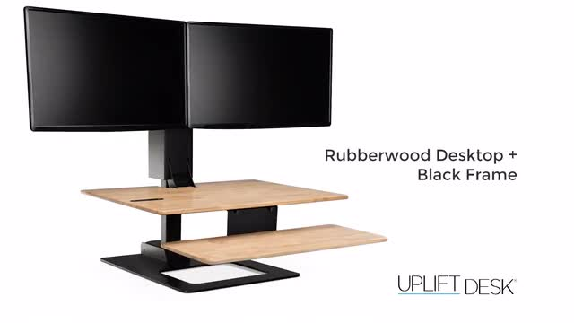 height bamboo up is ideal an with standing ergonomic stand adjustable center desk uplift desks feature a category cutout