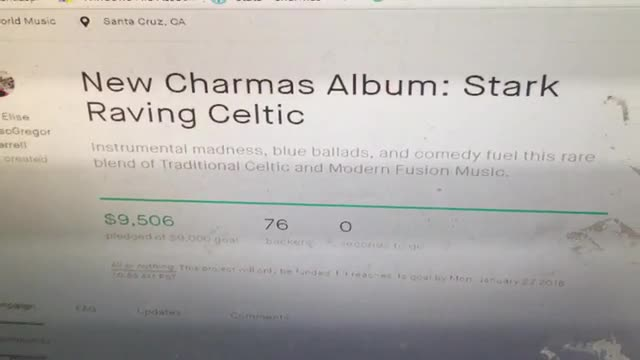 New Charmas Album: Stark Raving Celtic by Elise MacGregor