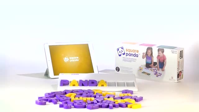 2018 Kids Square Panda Phonics Playset Home Edition For iPad//Android Tablets