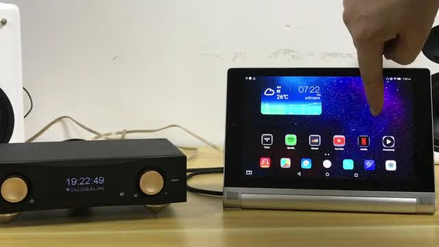 MRz+ UHD Music Server as the digital hub in a high-end audio by