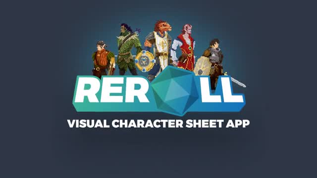 Reroll: Customize your DnD characters in Pixel Art by Team