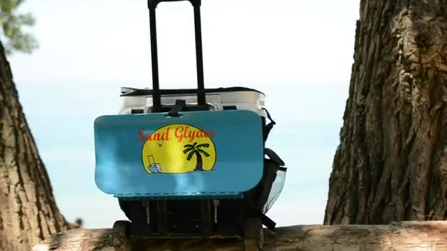 Sand Glyder - Don't drag your cooler... Glyde it!