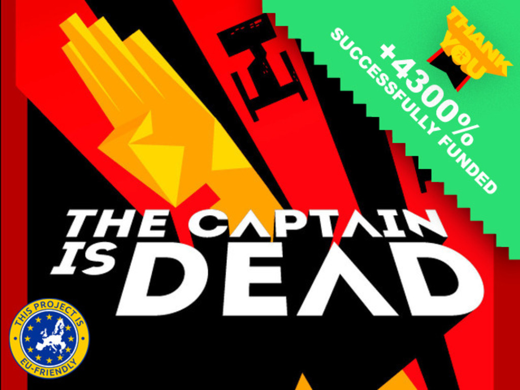 The Captain Is Dead's video poster