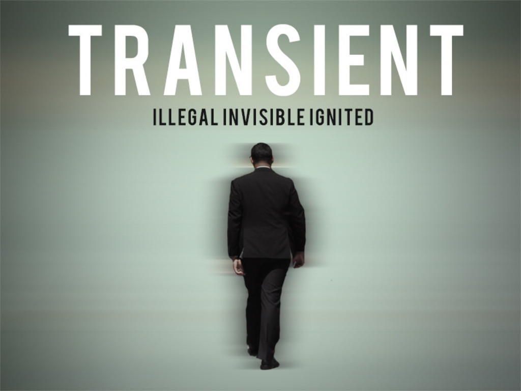 Transient's video poster