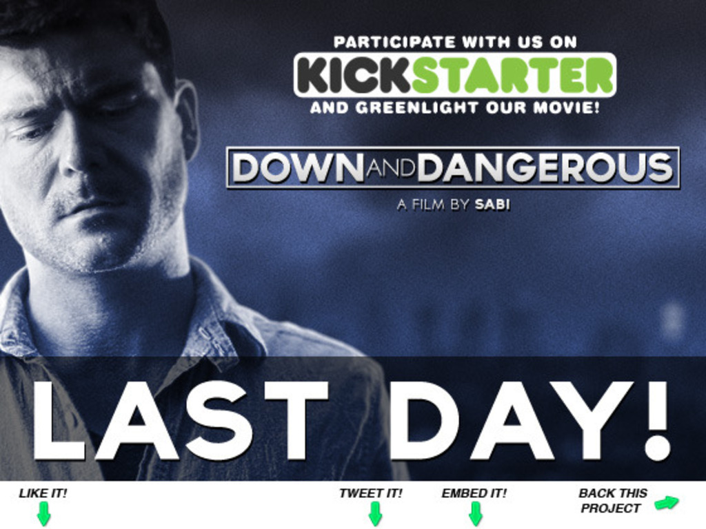 DOWN AND DANGEROUS – a crime thriller by Sabi's video poster