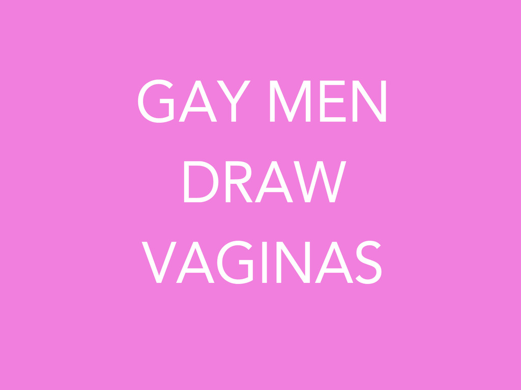 Gay Men Draw Vaginas's video poster