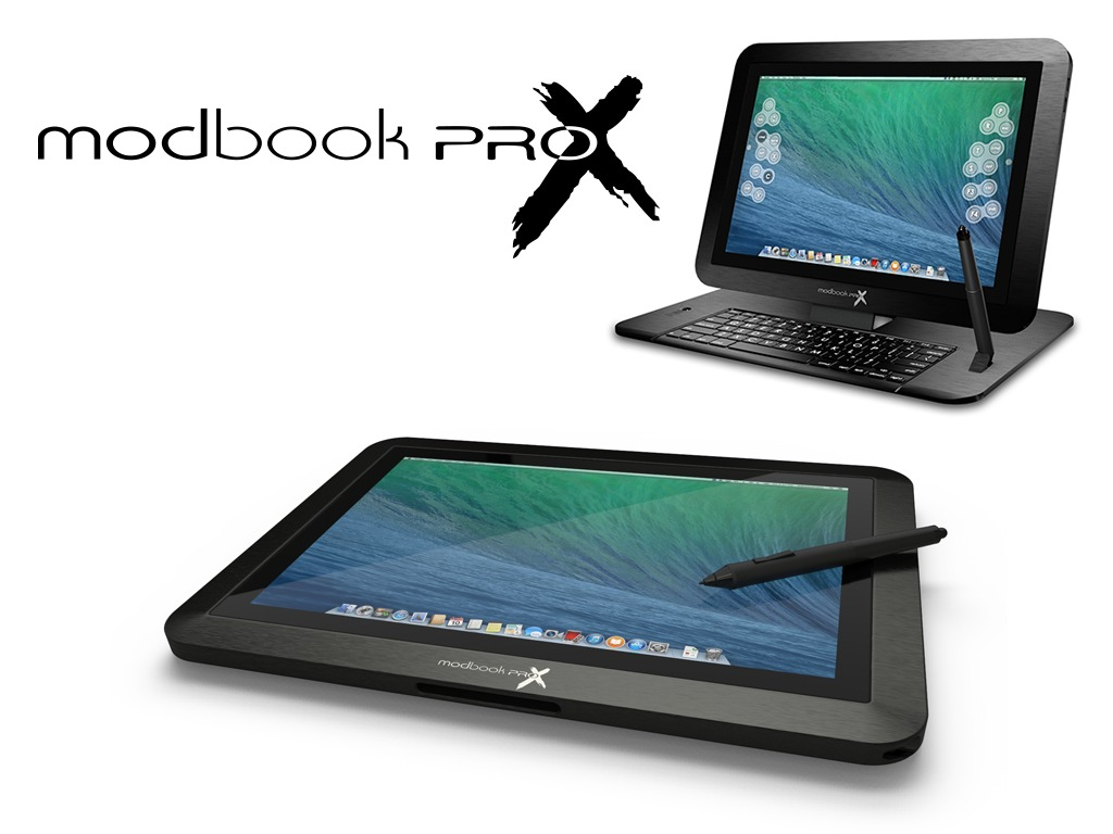 "Modbook Pro X — 15.4"" Retina Quad-Core Mac OS X Tablet's video poster"
