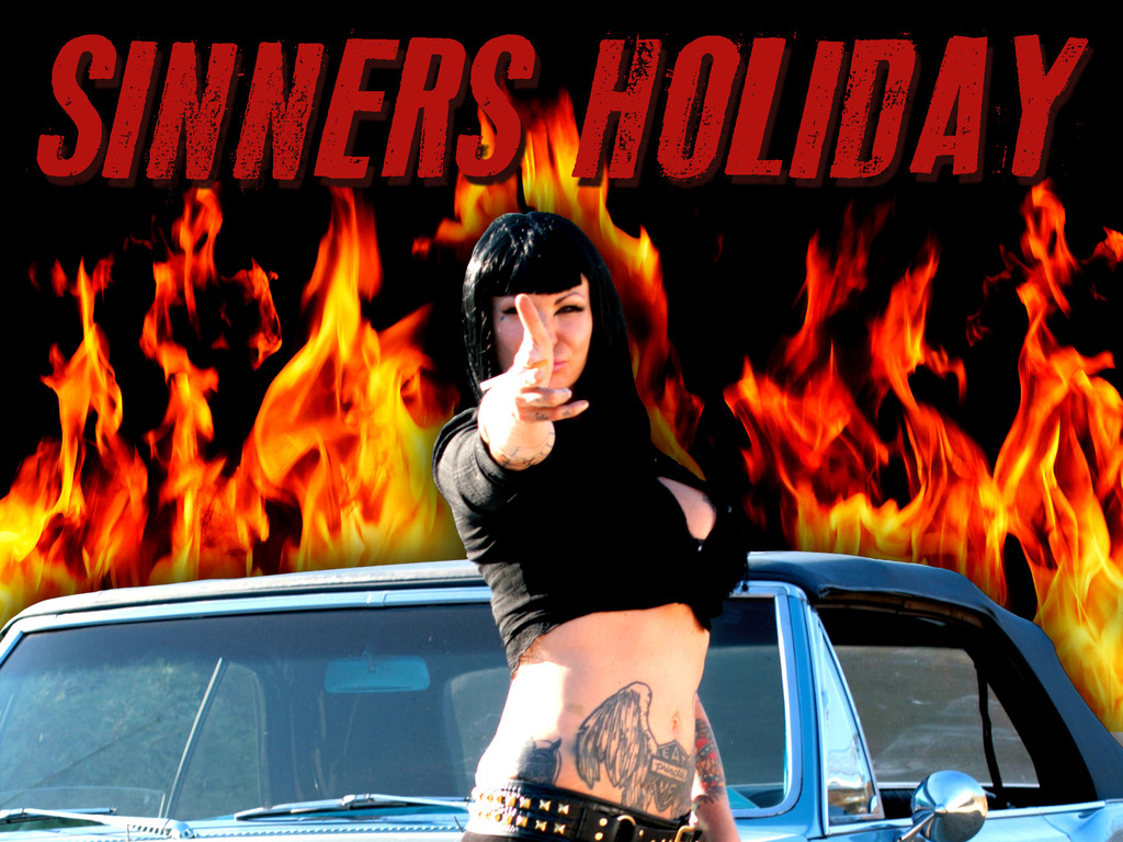 Sinners Holiday's video poster