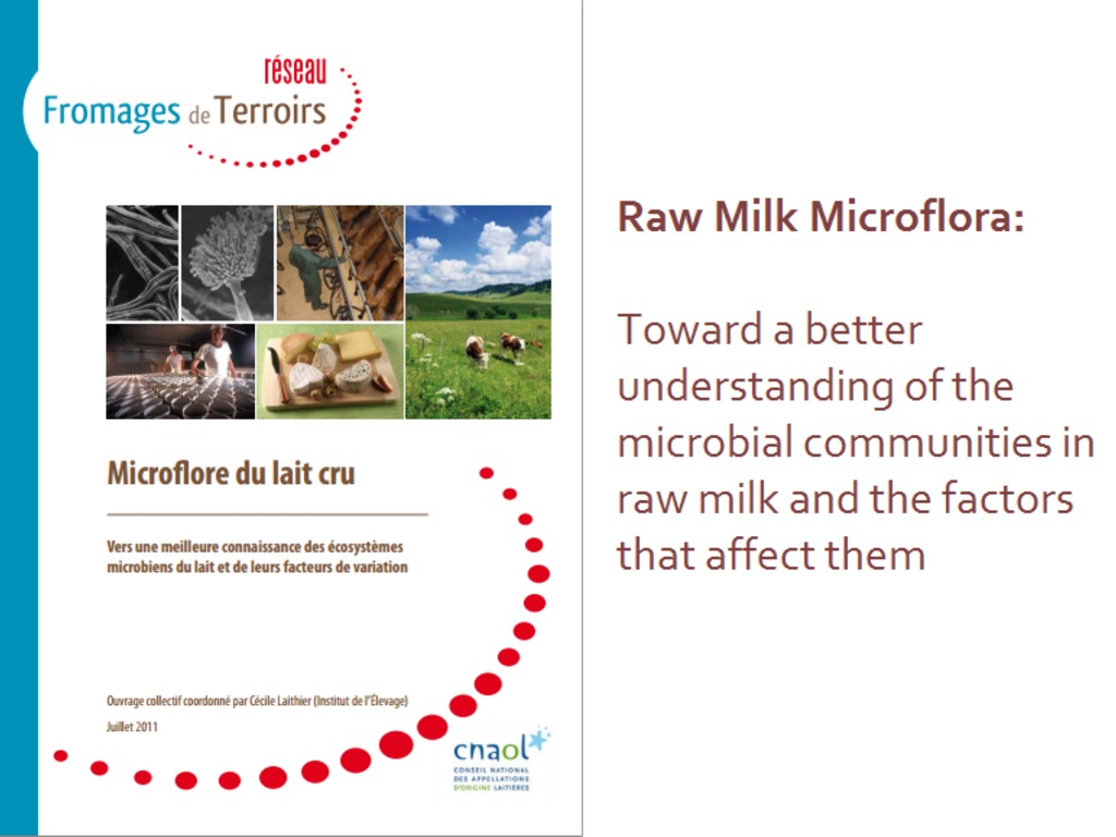 Raw Milk Microbiology for Cheesemakers's video poster
