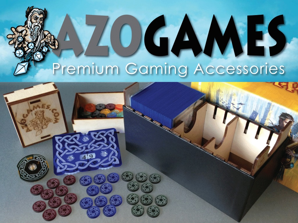 Azogames: Premium Acrylic and Wood Gaming Accessories's video poster