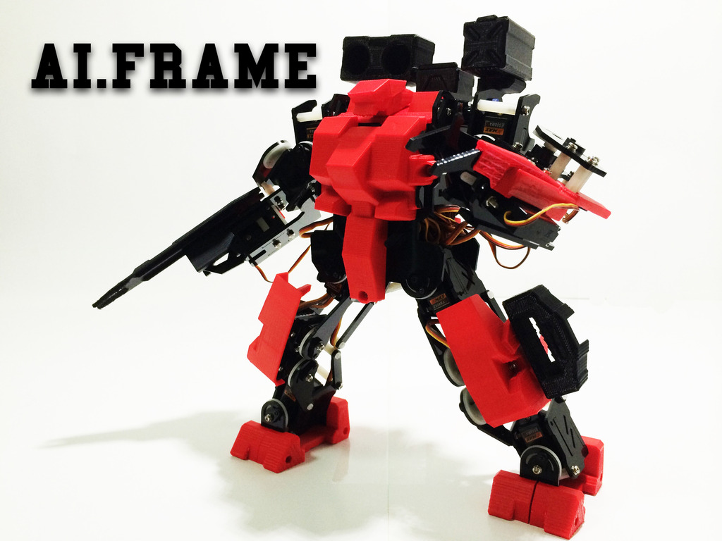 Ai.Frame: Age of Humanoid Robot's video poster