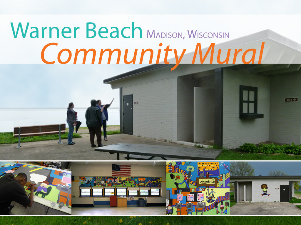 Warner Beach House Community Mural, Madison, Wisconsin's video poster