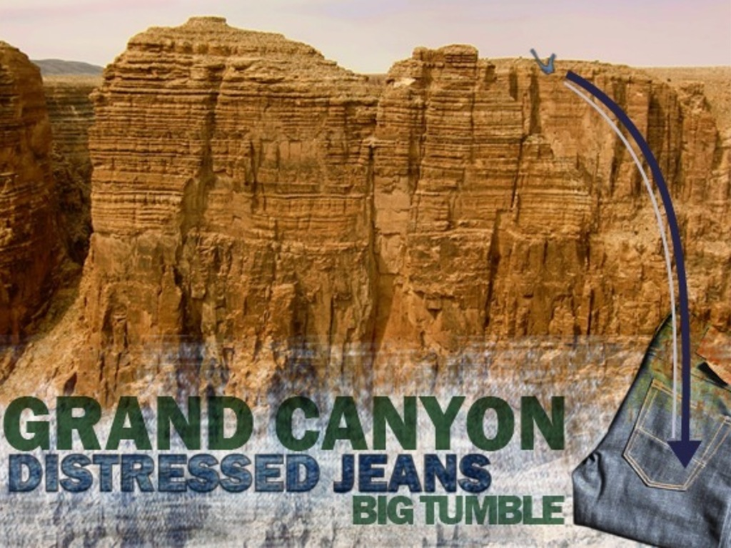 """Grand Canyon """"Big Tumble"""" Extreme Jeans Experience's video poster"""