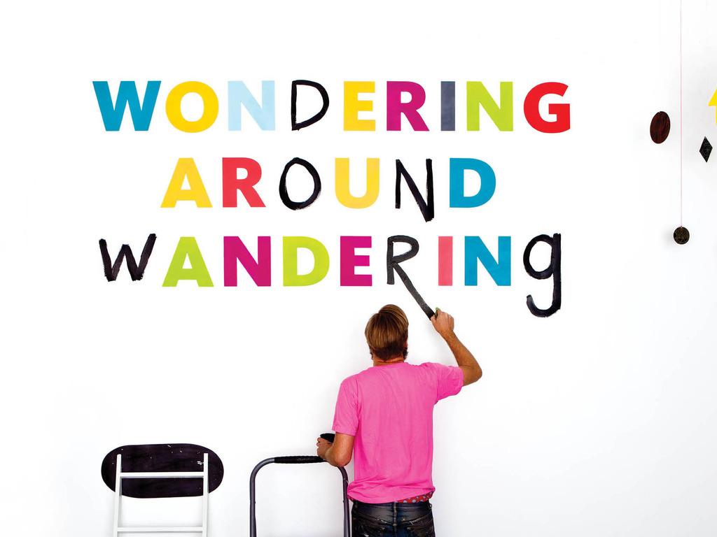 Wondering Around Wandering's video poster