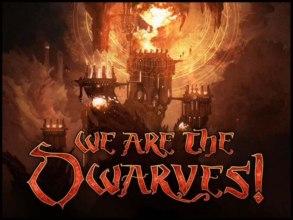 We Are the Dwarves! – real-time tactics Win-Mac-Linux game's video poster