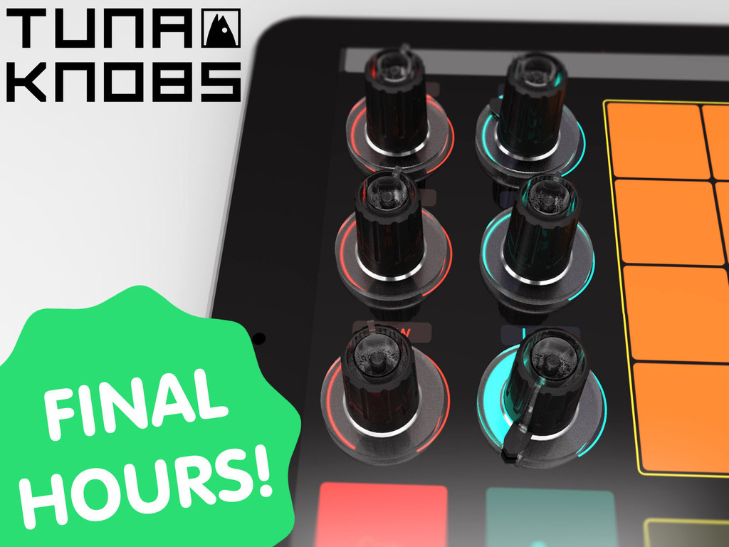 Tuna Knobs, Stick 'em to your tablet and it's a controller.'s video poster