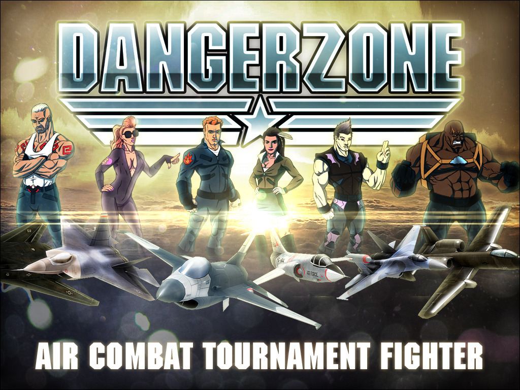 DANGERZONE - head-to-head air combat tournament fighter's video poster