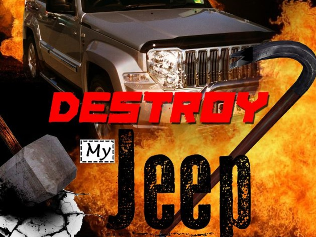 Destroy My Jeep - a game of fatal consequences for my car's video poster