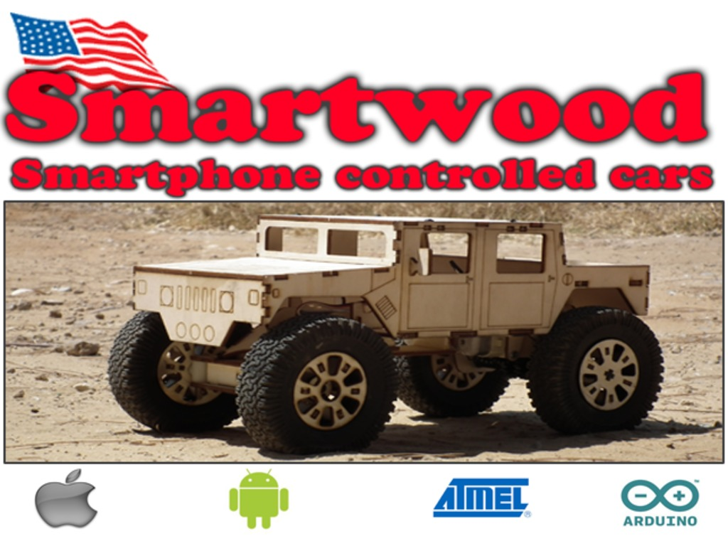 SmartWood - Smartphone Controlled DIY vehicles's video poster