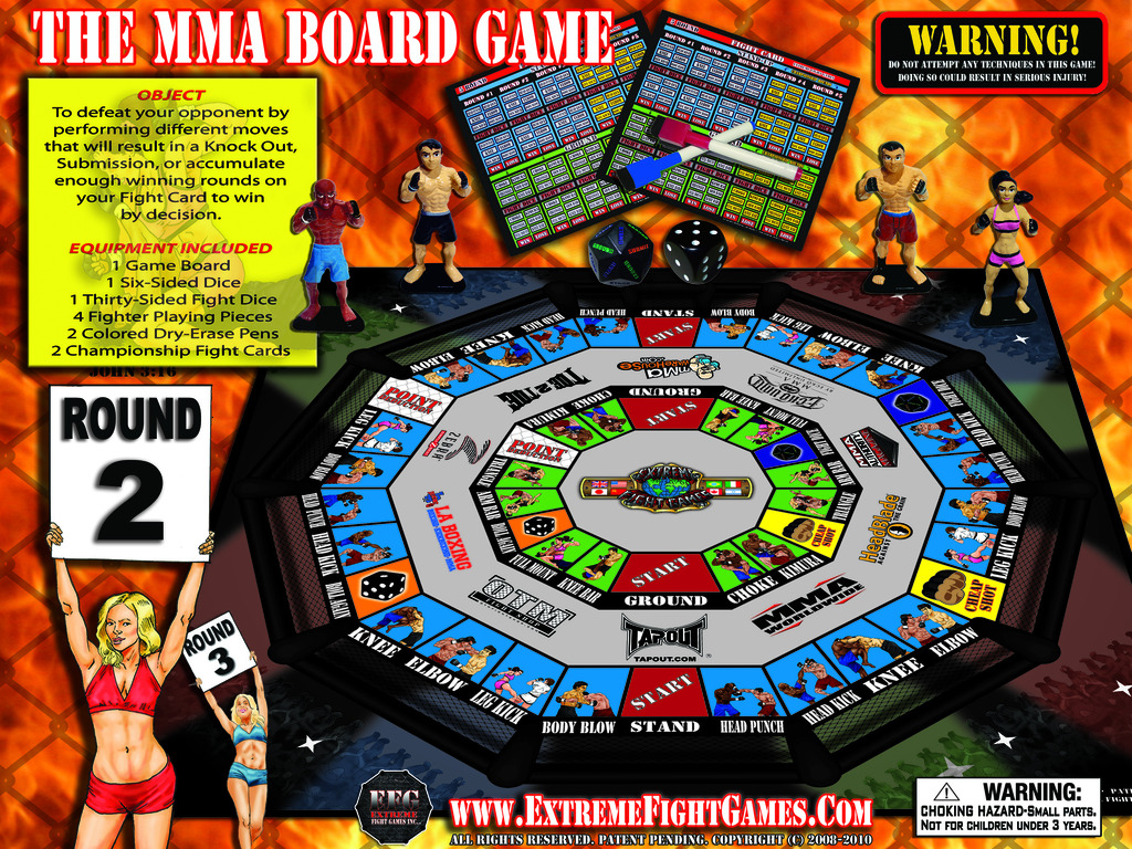 """""""World's First MMA Board Game""""'s video poster"""