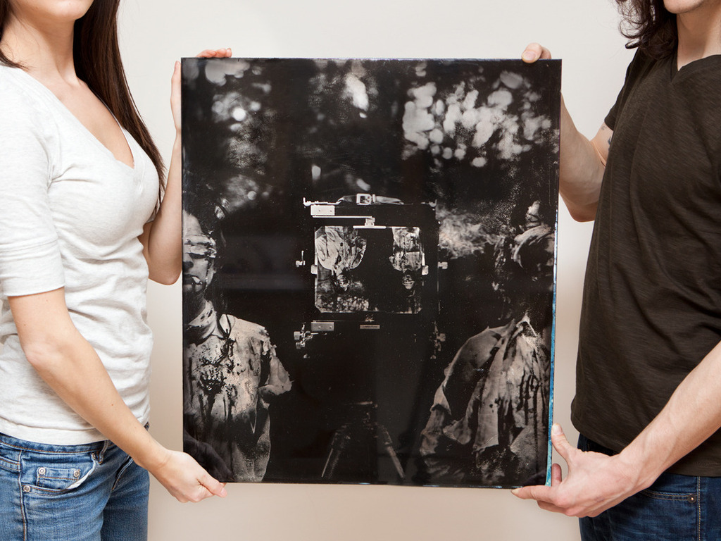 Execution: Conceptual Large Scale Ambrotypes's video poster