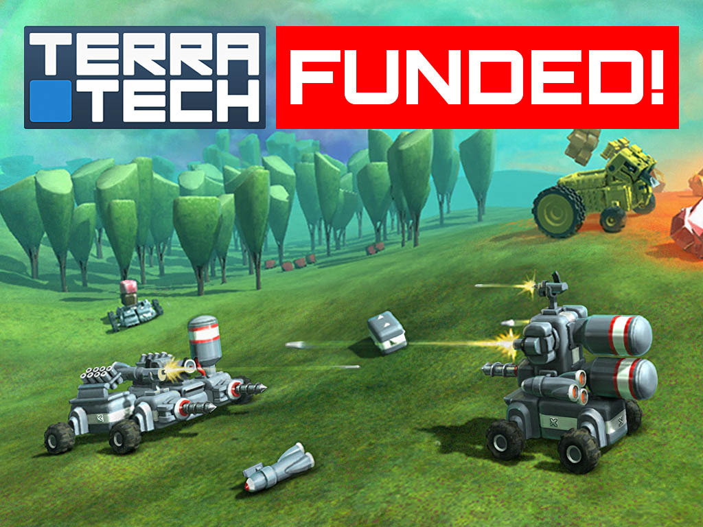 TerraTech – physics-based vehicle construction & combat's video poster