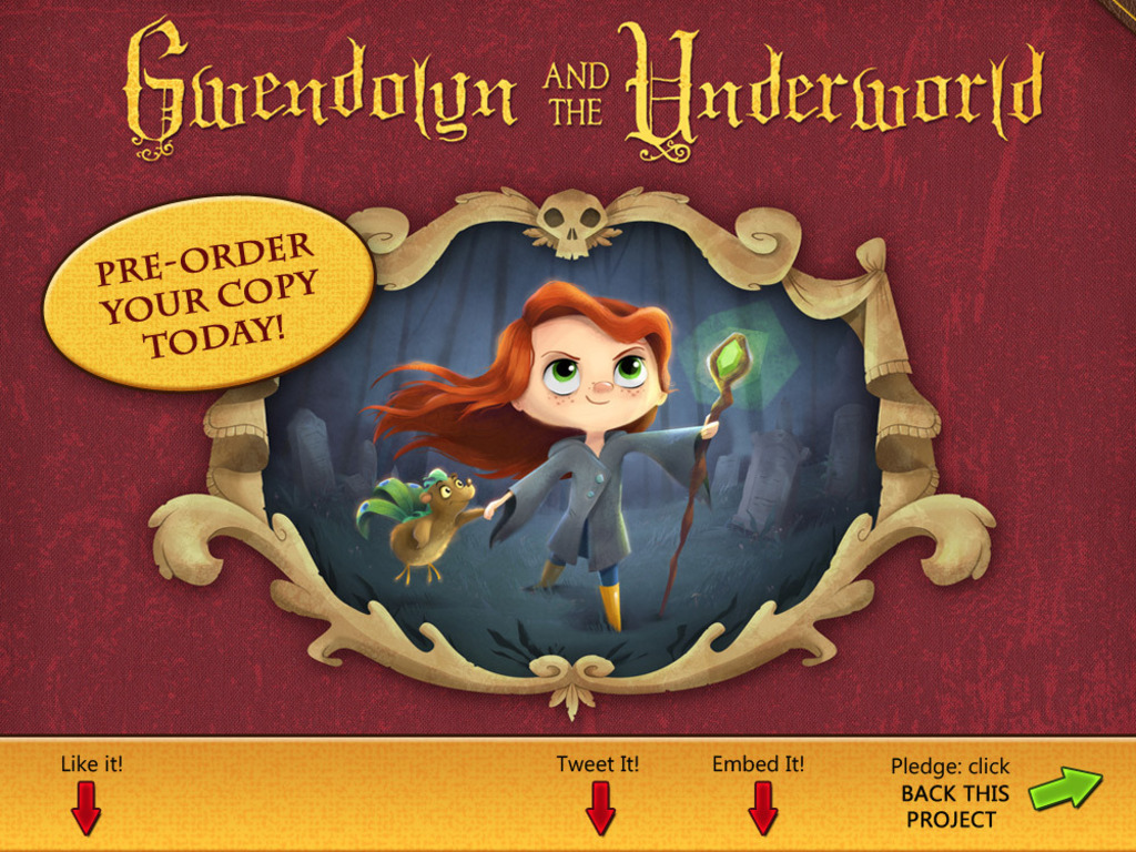 Gwendolyn and the Underworld's video poster