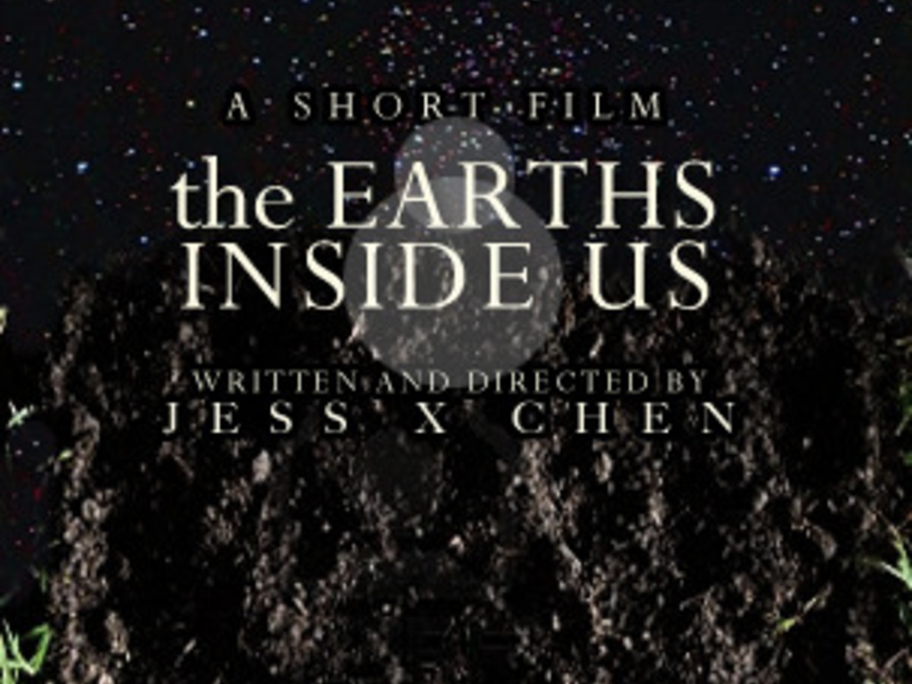 the Earths Inside Us - a RISD junior film's video poster