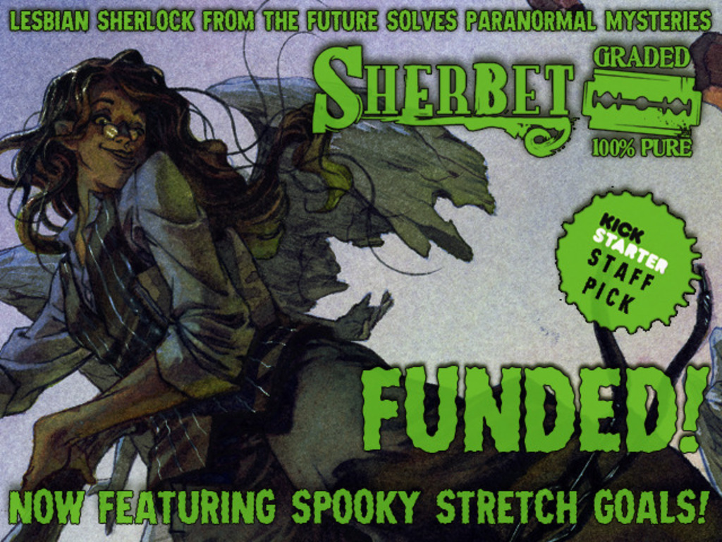 Sherbet: The Trade Paperback's video poster