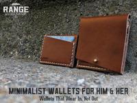 RANGE- Minimalist Leather Wallets